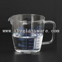 China Pyrex glass measuring cup with handle on sale
