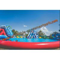China 30 m Diameter  Inflatable Water Parks Colorfull Inflatable Amusement Park on sale