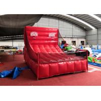 China Durable Giant Inflatable Outdoor Games  Inflatable Basketball Hoop Game on sale