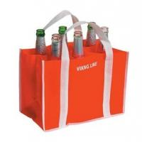 Wholesale 6 bottle reusable drink non woven wine bag from china suppliers