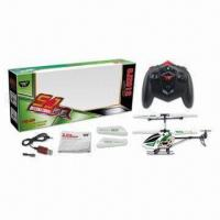 3.5-channel Infrared Ray Alloy RC Helicopter wirh Gyrocopter