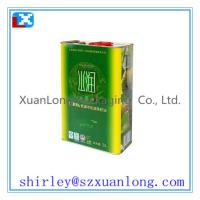 Wholesale square olive oil tin can from china suppliers