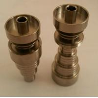 Quality Universal 6 In 1 Domeless Titanium Nail 10, 14, & 18mm Male/Female for sale