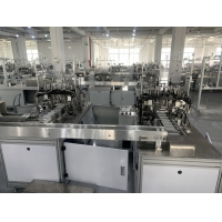 Wholesale ISO GB Anti Saliva Nonwoven Fabric Earloop Mask Machine from china suppliers