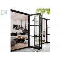 Wholesale Outside and Inside Openable Aluminium Swing Door 15mm Thickness from china suppliers