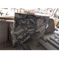 China Arabescato Prefabricated Marble Countertops , Polished Pre Built Countertops For Hotel on sale