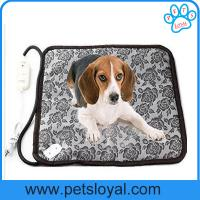 Pet heat dog bed heated pad for pets china factory sale dog heated pad