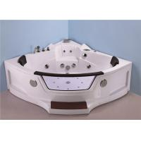 Wholesale Quadrant Shape Corner Whirlpool Bathtub For Small Bathroom ABS Material from china suppliers