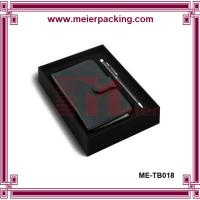 Wholesale Pen box, paper box for notedbook and pen, rigid office paper box ME-TB018 from china suppliers
