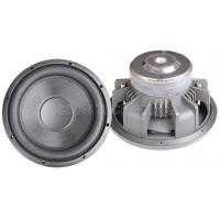 China Spl 90 dB 8 ohm 15 inch powerful car subwoofers white with aluminum frame on sale