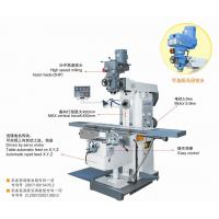 Wholesale 3 Ways DRO Mill Drill Machine Semi Automatic With Table Feed And 550 Mm Arm Travel from china suppliers