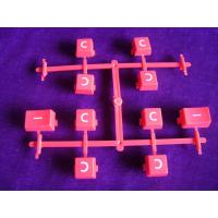 Buy cheap 2k Mold of Rubber Push-button Injection Two Shot Molding Overmold from wholesalers