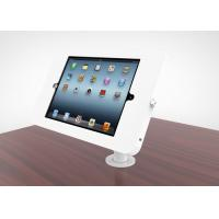 Buy cheap Adjustable Goose Neck Ipad Kiosk Stand Metal Desk Mounted Enclosure Powder from wholesalers
