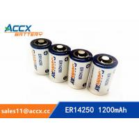 Quality smart electric meter battery ER14250H 3.6V 1200mAh for sale