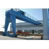 Yuantai High quality single girder semi hoist gantry crane,China top semi gantry crane for sale
