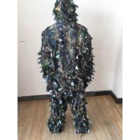 3D Leafy Leaves Clothing Jungle Woodland Hunting Camo Ghillie Suit