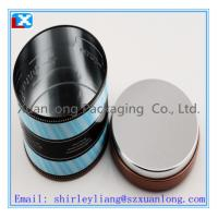 Wholesale Metal square tea tins with hinged lid from china suppliers