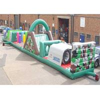 Wholesale Indoor Large Inflatable Obstacle Course , Kids Obstacle Course Bouncer from china suppliers