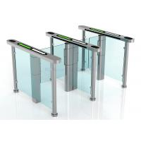 Wholesale Access Control Half Height Automatic Systems Turnstiles / Supermarket Swing Gate from china suppliers