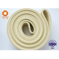 Quality PBO Material Heat Temperature Resistant Needle Punched Felt Pad For Aluminum Extrusion for sale