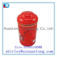 Wholesale Round shape tea tin can from china suppliers