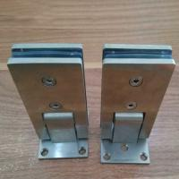 Wholesale Casting wall-to-glass stainless steel door hinge from china suppliers