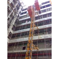 Custom Red Painted Safe Construction Material Hoists SC200 / 200 for Builder for sale