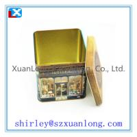 Wholesale Square Coffee Tin from china suppliers