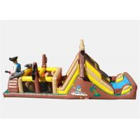 Quality Pop Commercial Inflatable Obstacle Course , Commercial Indoor Obstacle Course For Playing for sale
