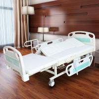 Wholesale Medical Electric Full Size Adjustable Bed For Elderly White Color from china suppliers