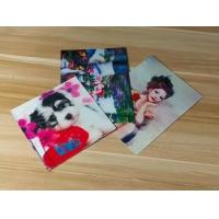 Wholesale Manufacturer Price 100LPI lenticular Plastic Cards Offset Printing 3D business Cards with strong lenticular effect from china suppliers