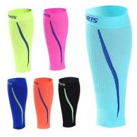 Wholesale Outdoor Sports Compression Nylon Calf Leg Sleeves 6 Colors Assorted for Your Order from china suppliers