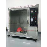 Wholesale Safety Helmet Flammability Test Chamber For Hard Hat Manufacturers IS0 3873 from china suppliers