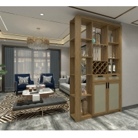 Buy cheap Divider Cabinets of living room custom furniture wine storage racks and pantry from wholesalers