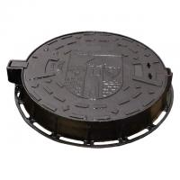 Wholesale High Strength Cast Ductile Iron Sewer Manhole Cover With Frame Double Seal from china suppliers