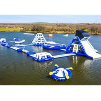 Wholesale Wake Island Inflatable Water Park Durable Blue Inflatable Aqua Park For Sea from china suppliers
