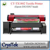 Buy cheap CT-TX1802 textile printer, flag printer, sublimation printer, heat transfer printing machine in Guangzhou from wholesalers