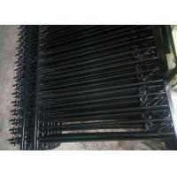 Wholesale Anti - Climb Automatic Driveway Gates Garrison Steel Tubular Fence For Yard from china suppliers