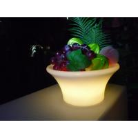 Wholesale Professional Led Illuminated Furniture , Colorful Glowing Ice Bucket from china suppliers