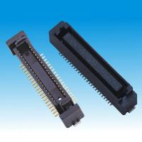 China 0.8mm Board To Board Connector 50Pin SMT Male H6.6 Black Color Housing on sale
