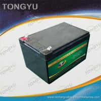Wholesale Power Lithium Ion 12v Battery 12Ah With Overcharge Discharge Protection from china suppliers
