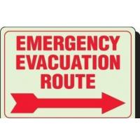 Wholesale Emergency Evacuation Outdoor Lighted Business Signs Rectangle Shape from china suppliers