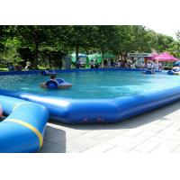 Wholesale Funny Rectangle Kids Inflatable Swimming Pools For Amusement Park from china suppliers