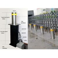 Quality Anti - Terrorist Automatic Retractable Bollards Removable Reflective Flexible for sale