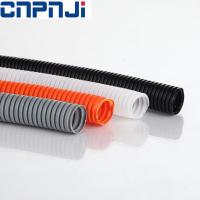 Wholesale CNPJ Flame retardant PA6 polyamide material corrugated flexible pipe with cable conduits from china suppliers
