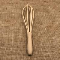 China Wooden Egg Beater for Kitchen,Made of Beech Wood for sale
