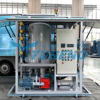 Double Stage Transformer Oil Filter Machine Increasing Breakdown Voltage for sale