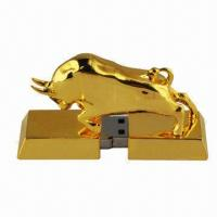 Wholesale Metal USB Flash Disk, Supports Microsoft's Windows 2000, XP, Vista and Apple's Mac 9 from china suppliers