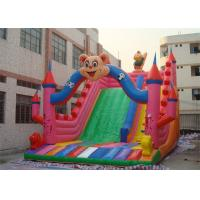 Wholesale Lovely Cartoon Commercial Inflatable Slide , Kids Inflatable Slides For Park from china suppliers