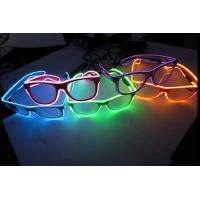 Wholesale Flash Lighting El Wire Glasses With Hand Or Sound Control Rohs CE from china suppliers